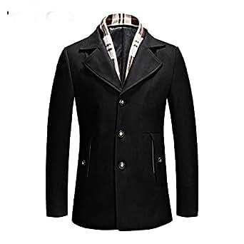 Amazon.com: Taylor Heart New design Wool Mens Overcoat