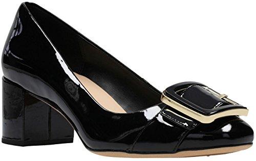 Clarks - Womens Orabella Fame Shoe Black Pat