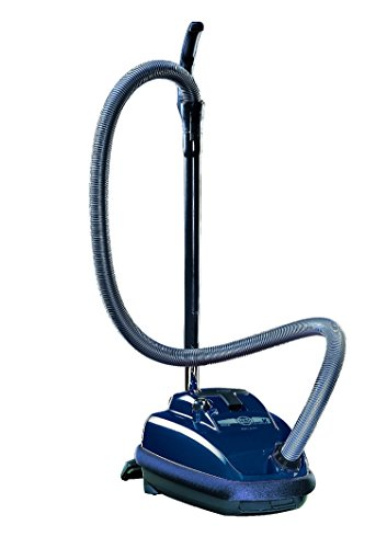 Sebo 9679AM Canister Vacuum With Combination Nozzle Midnight
