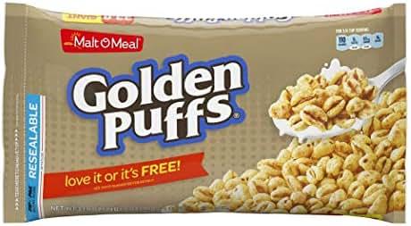 Breakfast Cereal: Golden Puffs