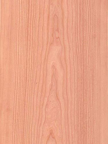 Wood Veneer, Cherry, Flat Cut, 2x8, PSA Backed by Veneer Tech