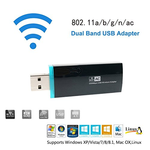 URANT AC600Mbps Adapter 802 11ac Wireless product image