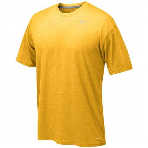 Nike Legend Gold Short Sleeve Performance Shirt, XL