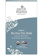 Earth Mama Angel Baby Organic Herbal Sitz Bath for Pregnancy and Postpartum, 6-count