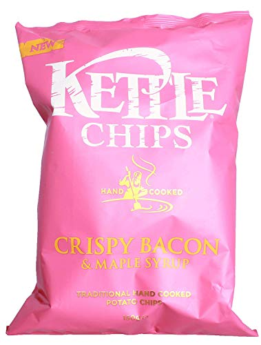 (Kettle Chips Crispy Bacon & Maple Syrup)