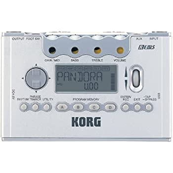 discontinued korg px5d pandora guitar and bass multi effects processor musical. Black Bedroom Furniture Sets. Home Design Ideas