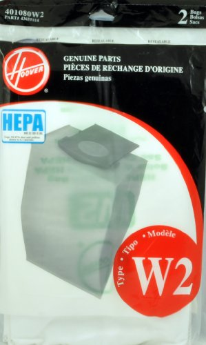Hoover W2 Filter Bags - 4