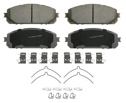 Wagner Brake Wagner ThermoQuiet QC1843 Ceramic Disc Brake Pad Set