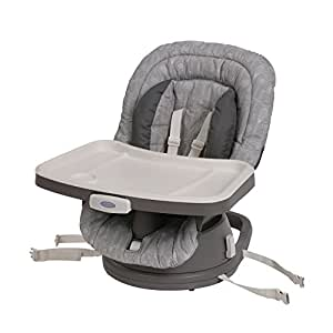 Graco Swivi Seat 3-in-1 Booster High Chair, Whisk