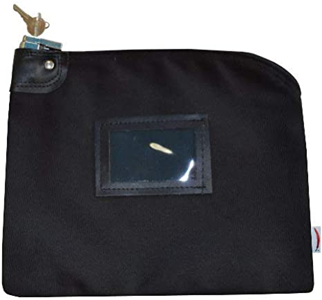 """8.5/"""" x 14/"""" Canvas Coin Bag Small Brand New"""