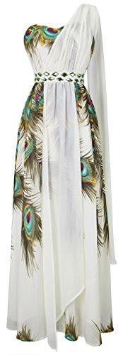 Buy 1 shoulder maxi dress - 8