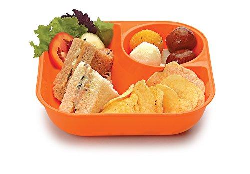JVS Plastic Snack Bowls, 380 ml, Set of 12, Assorted