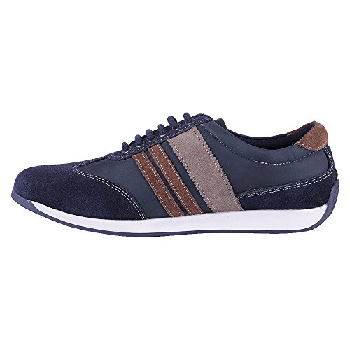 Mancini Men's Blue Synthetic Casual Shoes (450077693001) – 6 UK