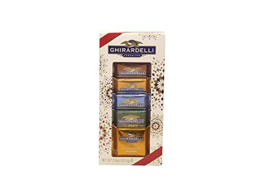 Ghirardelli Assorted Chocolate Small Holiday Box 2.6oz