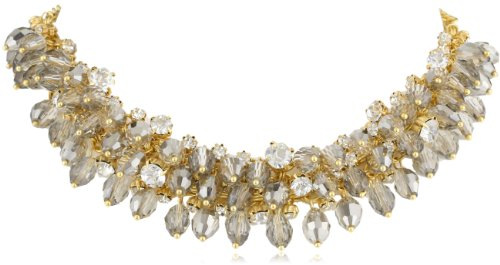 """ABS By Allen Schwartz """"Starlight"""" Gold-Tone Shaky Beaded Necklace"""