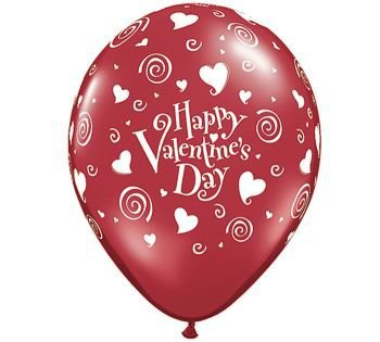 Schön Happy Valentineu0027s Day Latex Balloons Qualatex 11 Inch 25 Per Pack