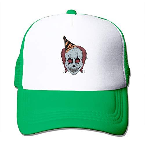 Jason Le Clown Unisex Solid Color CapJogging Hat Adjustable