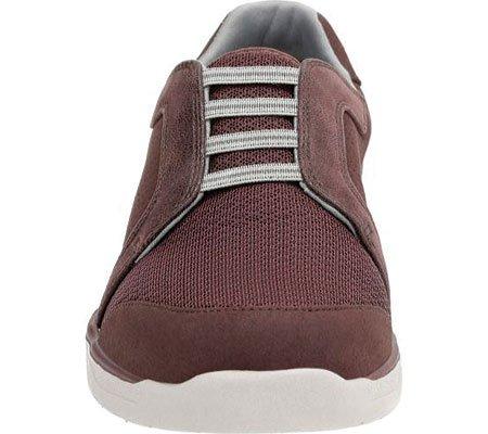 Clarks Womens Mckella Morris Sneaker Melanzana Sintetica Nubuck