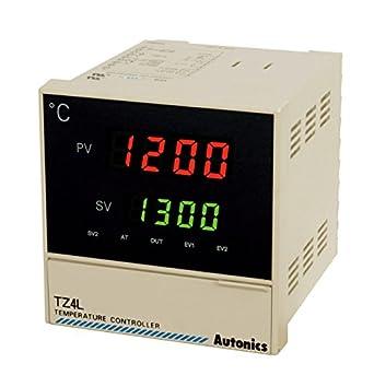 Amazon.com: AUTONICS tz4l-24 C PID Control de Temp, 1/4 Din ...