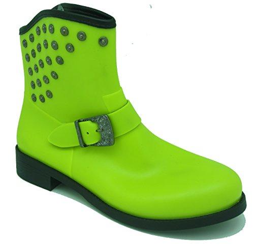 Diesel RAIN BOOT GAMMY Q00896 (55) Damen Regenstiefel, gelb, EU 39