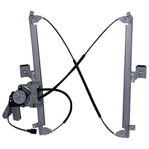 Price comparison product image 741-579 15135971, 15206913Rear Right Passenger Side Replacement Power Window Regulator with Motor for Select 02-06 Cadillac / 00-07 Chevrolet / 00-07 GMC Trucks, One Year Warranty