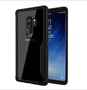 Samsung Galaxy S9 - All-inclusive Ultra Thin case Silicone transparent backplane Shockproof cover Black