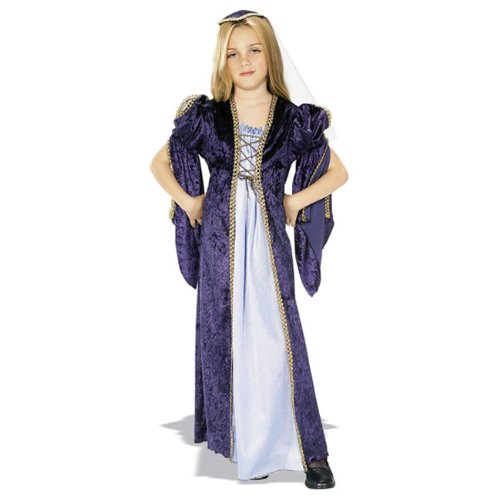 Juliet Halloween Costumes (Rubies Renaissance Faire Juliet Child Costume, Medium, One Color)