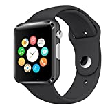 Smartwatch Apple Compatible With Honor Xiaomi Motorola Samsung Moto Apple Oppo Vivo Micromax OnePlus Redmi iPhone With SIM and Camera Card Slot Support   Analogue Watch   Works For Both - Android and iPhone  WhatsApp and Facebook  Activity Tracker   Fitness Band   New Arrival Best Selling High Quality Available At Lowest Price by m-fit   COLOUR MAY VARY
