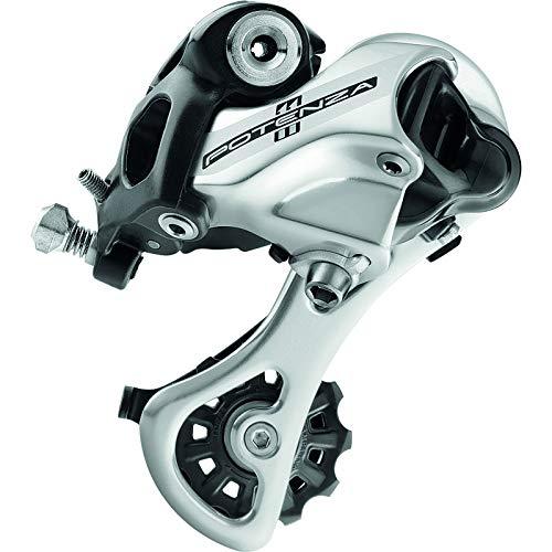 Campagnolo Potenza Ho rd18 11-speed背面自転車Derailleur M(ミドル)(RD18-POS1M) シルバー B07314ZRDK