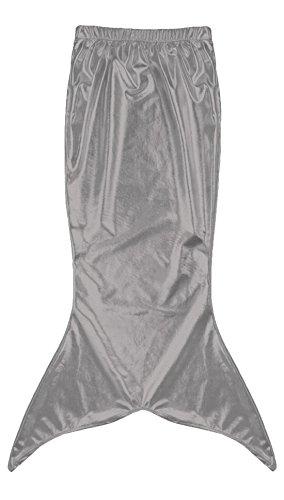 Marvoll Women's Shiny Metallic Mermaid Tails Costume Halloween Party Dress (Medium, (Male Mermaid Halloween Costumes)