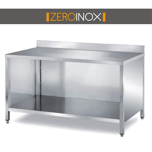 ZeroInox Mesa Acero Inoxidable - Profundidad 60 cm - armadiato con ...