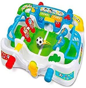 Baby Clementoni Fermin EL FUTBOLIN Cuenta GOLES con Sonidos Y Canciones: Amazon.es: Juguetes y juegos