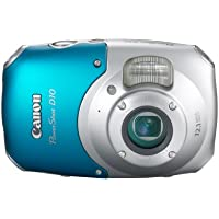 Canon PowerShot D10 12.1 MP Waterproof Digital Camera with 3x Optical Image Stabilized Zoom and 2.5-Inch LCD (OLD MODEL) Basic Facts Review Image