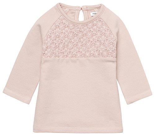 Noppies Baby-Mädchen Kleid G Dress Sweat Ls Avio, Rosa (Blush C093), 56