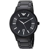 Emporio Armani Men's 'Fashion Watch' Quartz Stainless Steel Casual, Color:Black (Model: AR11079)