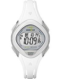 Timex Women's TW5M12400GP Sport Ironman Digital Sleek 30-Lap White