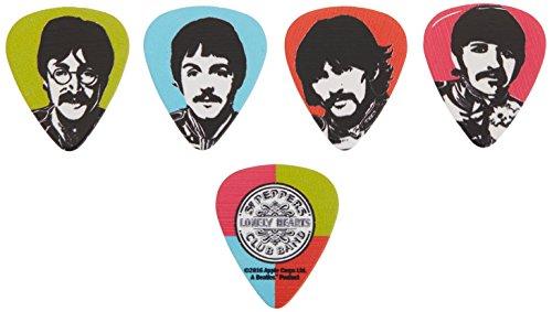 Planet Waves 1CWH4-10B6 Beatles Guitar Picks, Meet the Beatles, 10 Pack, Heavy Gauge (Stones Pick Guitar Rolling)