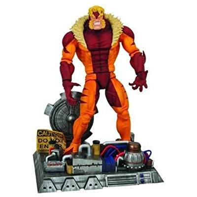 Marvel Select: Sabretooth Action Figure: Toy: Toys & Games
