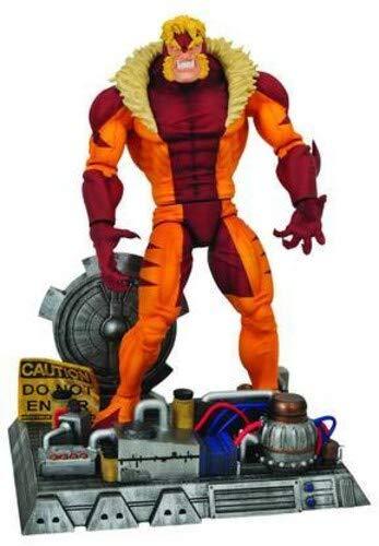 Marvel Select: Sabretooth Action Figure (Diamond Select Marvel Select Colossus Action Figure)