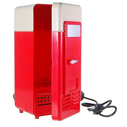 Desktop Beverage Cooler ~ Generic mini usb fridge red buy online in uae