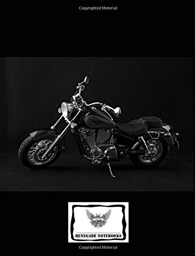 Composition Notebook College Ruled Lined Paper 200 Pages: Classic Motorcycle Easy Rider Cover Design ebook