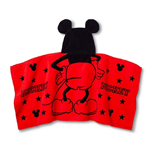 Mickey Mouse & Friends Hooded Bath Towel 23 x 51 Inches