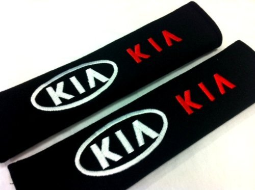 KIA Seat Belt Cover Shoulder Pad Cushion (2 pcs) by Kia JP
