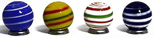 Swirled Glass Vase - 8