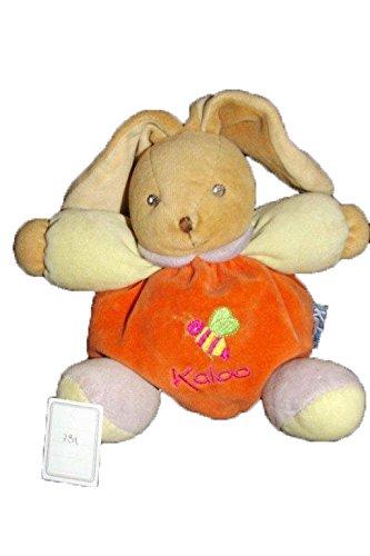 Kaloo - Doudou kaloo lapin boule orange vert violet abeille - 781