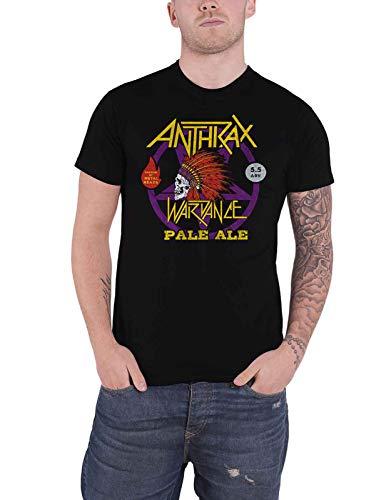 Anthrax T Shirt War Dance Paul Ale World Tour 2018 Official Mens Black Size M