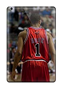 Discount 5537415K731731262 sports nba basketball backview derrick rose depth of field chicago bulls NBA Sports & Colleges colorful iPad Mini 3 cases