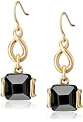 Kenneth Cole New York Jet Set Faceted Bead Drop Earrings