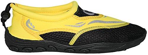 Greg Michaels Mens Chaussures Deau Chaussettes Aqua - Haute Durabilité, Confortable À Porter Dans Leau Et Sur La Surface Jaune - 4
