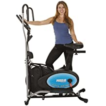 Paradigm ProGear 400LS 2 in 1 Air Elliptical and Exercise Bike with Heart Pulse Sensors